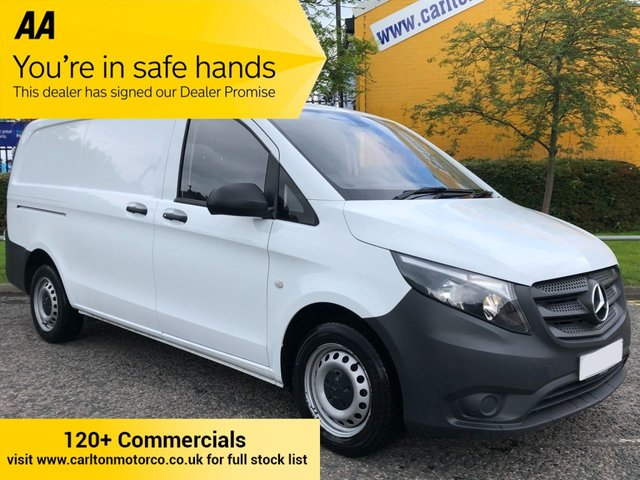 2017 17 MERCEDES-BENZ VITO LONG 1.6 111 CDI 115 LWB TWIN SLD [ EURO-6 ]