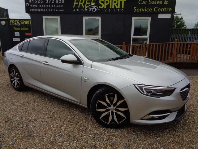 USED 2017 67 VAUXHALL INSIGNIA 1.6 Turbo D BlueInjection Elite Nav Grand Sport (s/s) 5dr Nav, Rear Cam, Leather