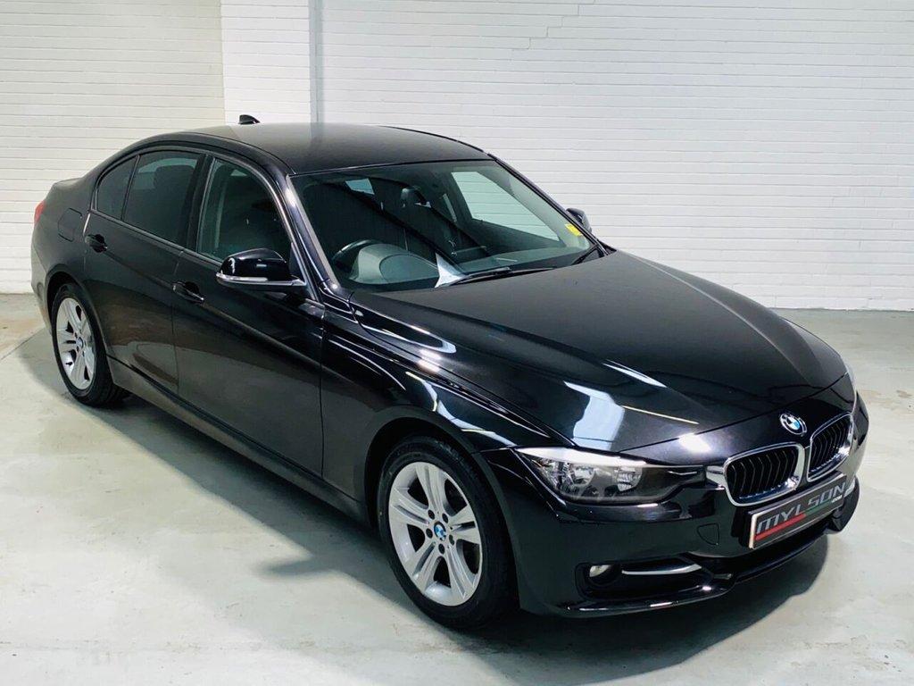 USED 2012 62 BMW 3 SERIES 2.0 320D SPORT 4d 184 BHP Privacy Glass, Bluetooth Media, Auto, £30 Annual Road Tax