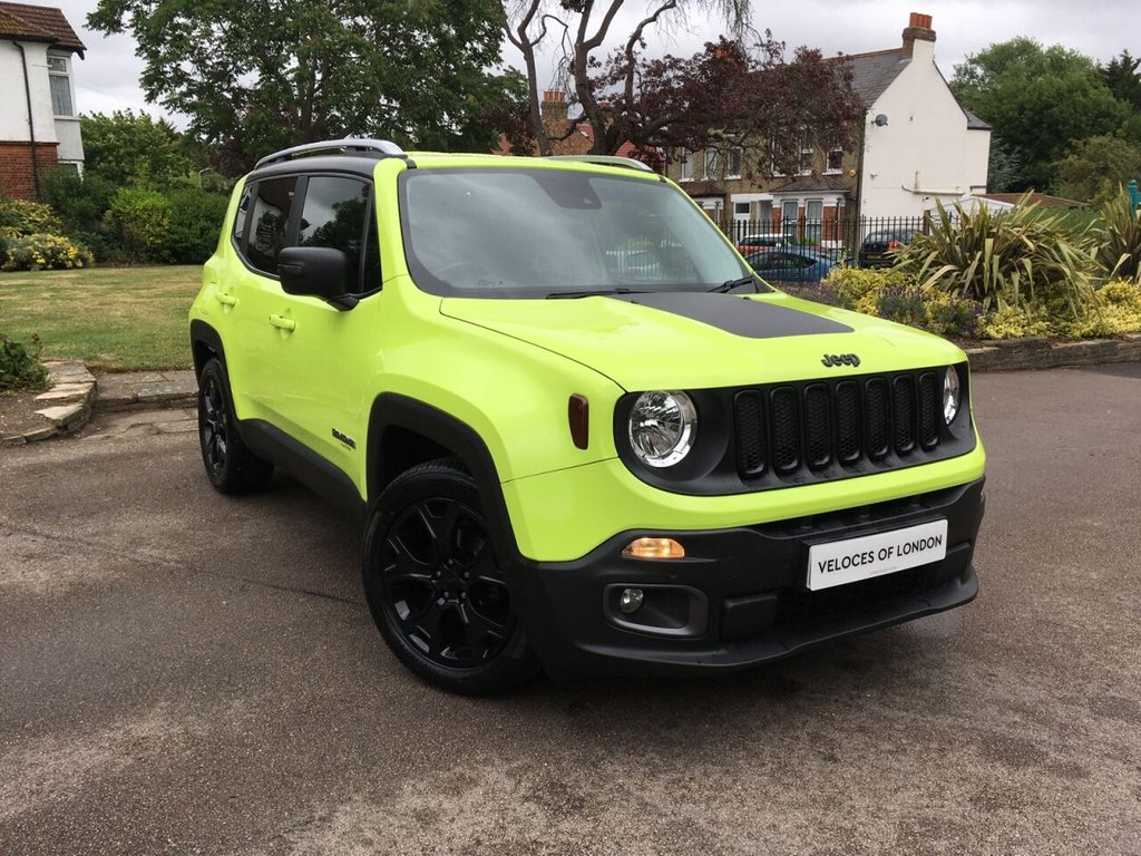 USED 2017 66 JEEP RENEGADE 1.4L LIMITED 5d 138 BHP ..UK WIDE DELIVERY AVAILABLE..