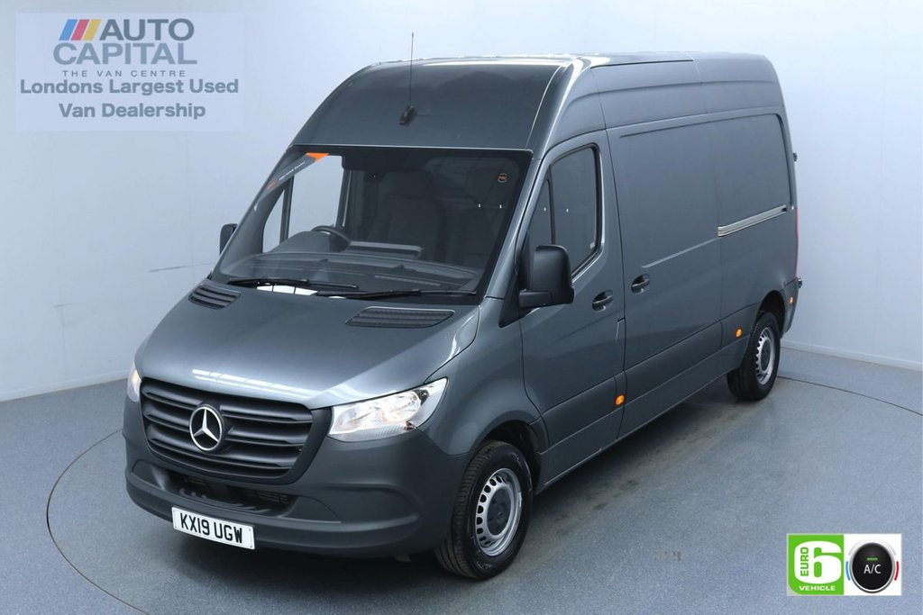 USED 2019 19 MERCEDES-BENZ SPRINTER 2.1 314 CDI 141 BHP L2 H2 MWB Euro 6 Low Emission Finance Available Online | Air Condition | UK Delivery