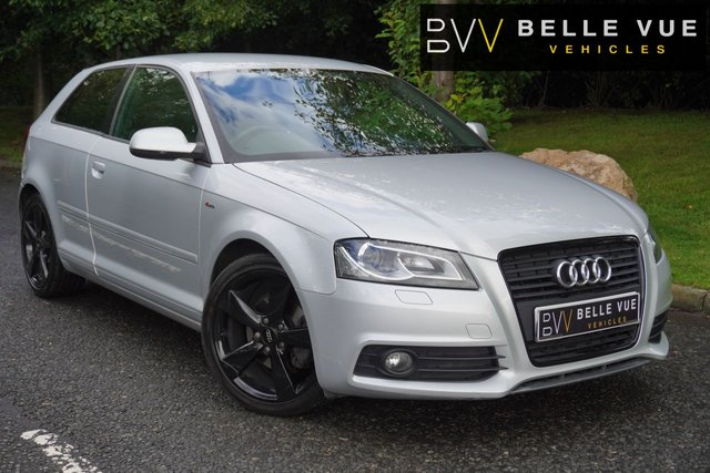 "USED 2012 11 AUDI A3 2.0 TDI S LINE SPECIAL EDITION 3d 138 BHP *18"" ALLOY WHEELS, XENON HEADLIGHTS, ONLY 78k MILES!*"