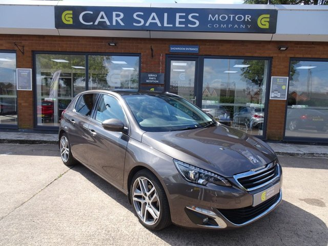 USED 2015 64 PEUGEOT 308 1.2 E-THP FELINE 5d 130 BHP £20 ROAD TAX, FULL SERVICE HISTORY, PAN ROOF, SAT NAV, REVERSE PARKING CAMERA, SIX SPEED GEARBOX, 5 STAR RATED DEALERSHIP