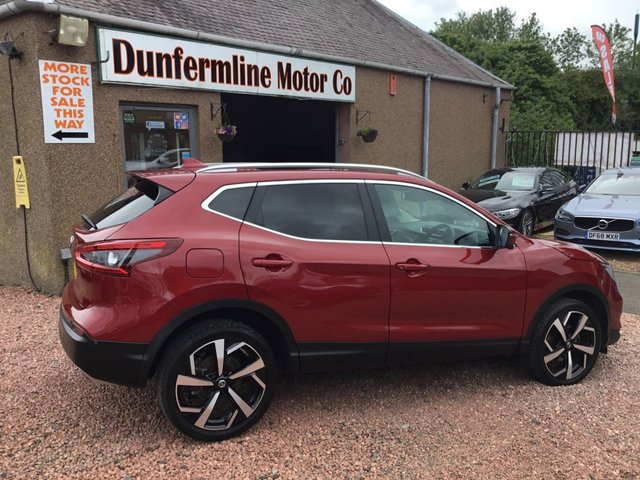 USED 2017 67 NISSAN QASHQAI 1.2 TEKNA DIG-T XTRONIC 5d 113 BHP ++VEHICLE NOW RESERVED ++