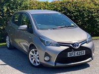 USED 2015 15 TOYOTA YARIS 1.5 HYBRID EXCEL 5d * AUTOMATIC, ONLY 23,589 MILES, DASH CAMERA *