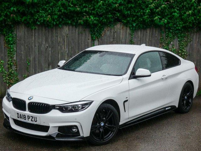 2018 18 BMW 4 SERIES 2.0 420I M SPORT 2d 181 BHP