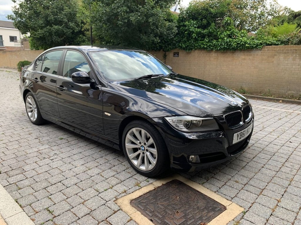 USED 2012 61 BMW 3 SERIES 2.0L 318D SE 4d AUTO 141 BHP LEATHERS,WARRANTY,BMW SERVICE HISTORY, NEW MOT, FINANCE