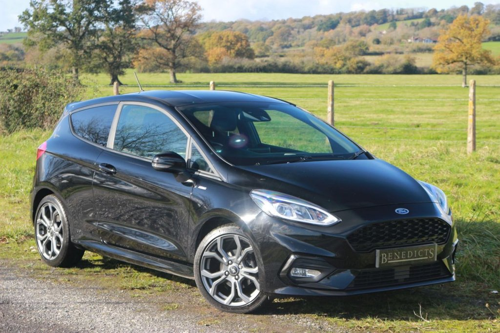 USED 2018 18 FORD FIESTA 1.0 ST-LINE 3d 138 BHP