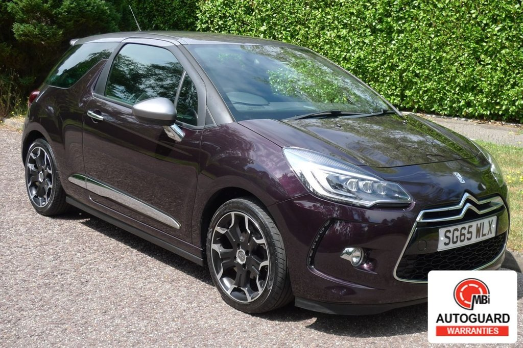 USED 2015 65 DS DS 3 CITROEN DS3 1.6 BLUEHDI DSPORT S/S 3d 118 BHP ZERO ROAD TAX...FULL HISTORY