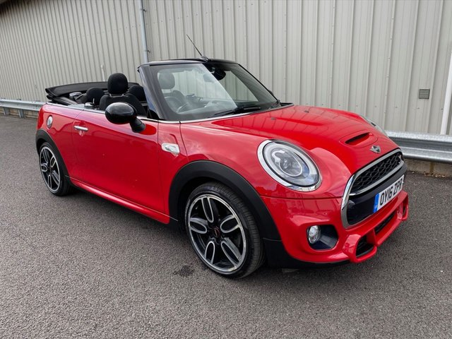 2016 16 MINI CONVERTIBLE 2.0 COOPER S 189 BHP AUTOMATIC