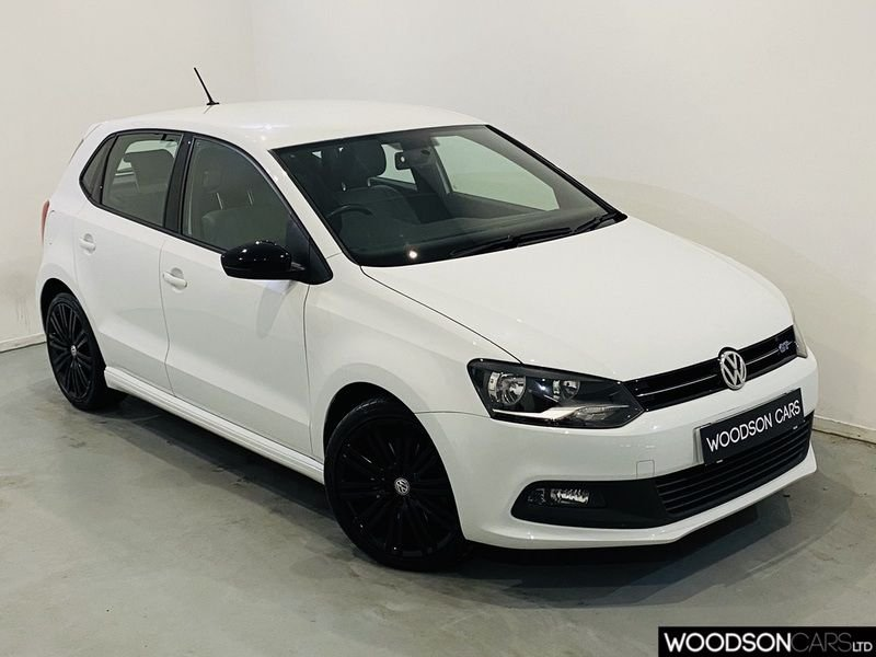 USED 2014 14 VOLKSWAGEN POLO 1.4 BLUEGT 5d 148 BHP 1 Previous Owner / £20 Road Tax / Isofix / DAB / Gloss Black Alloy Wheels