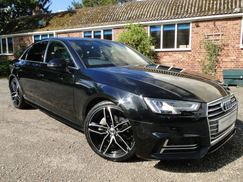 USED 2016 66 AUDI A4 2.0 TDI S-Line 190 S-Tronic 4dr