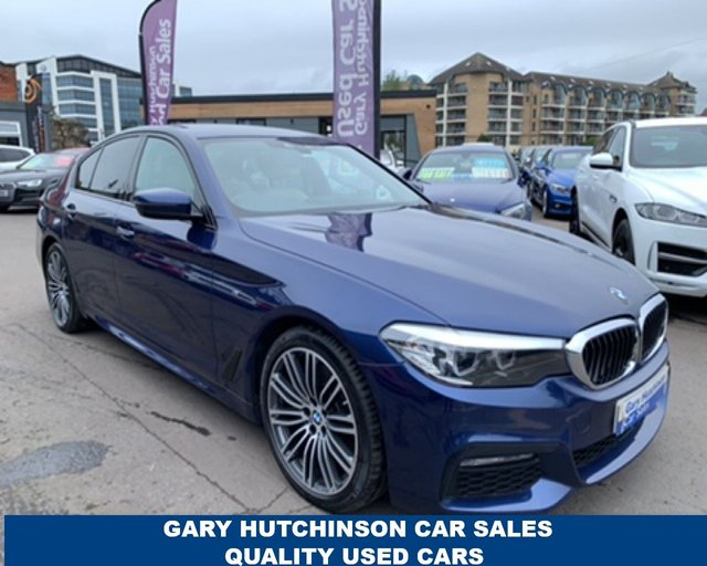 USED 2018 18 BMW 5 SERIES 530D XDRIVE M SPORT AUTO 261 BHP