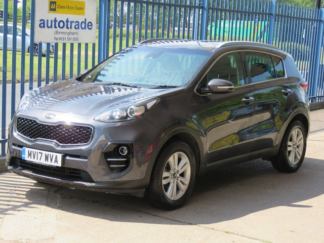USED 2017 17 KIA SPORTAGE 1.7 CRDI 2 ISG 5dr Sat nav Cruise Park camera Privacy DAB Finance arranged Part exchange available Open 7 days ULEX Compliant