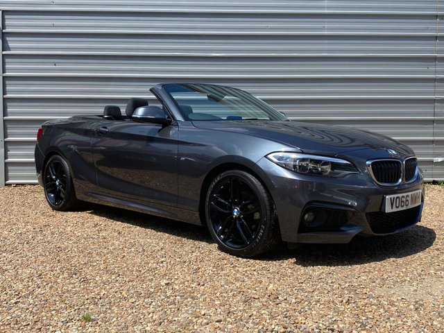 USED 2016 66 BMW 2 SERIES 1.5 218I M SPORT 2d 134 BHP 1 Owner-Bmw Service  History