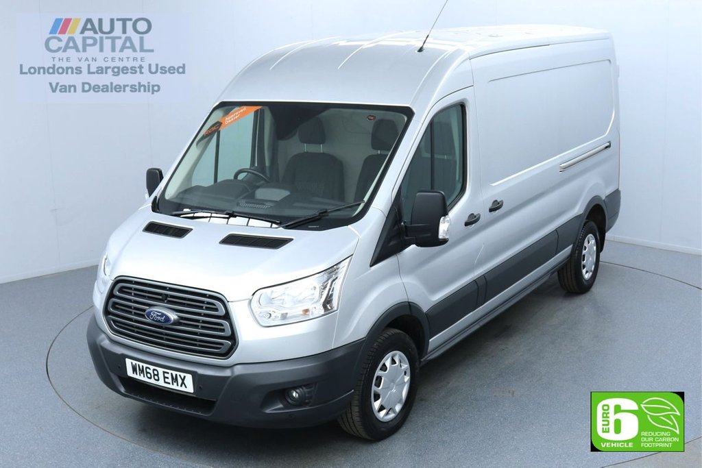 USED 2018 68 FORD TRANSIT 2.0 350 Trend L3 H2 130 BHP Euro 6 Low Emission Finance Available Online | Front and rear parking sensors