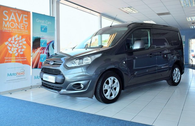 2017 17 FORD TRANSIT CONNECT 1.5 200 LIMITED P/V 118 BHP