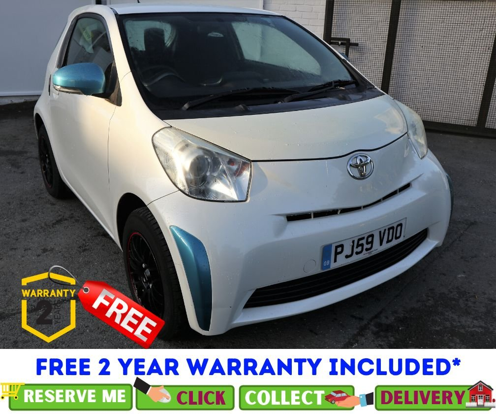 USED 2009 59 TOYOTA IQ 1.0 VVT-I IQ 3d 68 BHP *CLICK & COLLECT OR DELIVERY