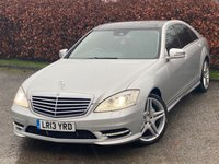 USED 2013 13 MERCEDES-BENZ S CLASS S350L CDi BlueTEC 4dr Auto AMG Sport Edition * LUXURY MOTORING * 12 MONTHS AA BREAKDOWN COVER *