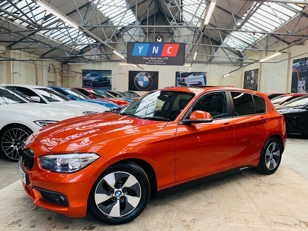 USED 2016 16 BMW 1 SERIES 1.5 116d ED Plus (s/s) 5dr YNCSTYLING+SUNROOF+HTDLTHR