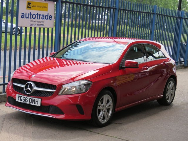USED 2016 66 MERCEDES-BENZ A-CLASS 1.5 A 180 D SPORT 5dr Sat nav Full leather Rear camera Cruise Finance arranged Part exchange available Open 7 days ULEX Compliant