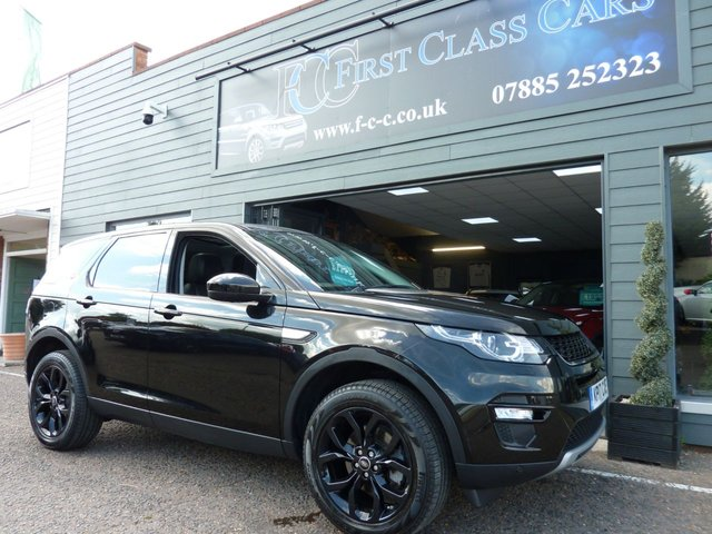 2017 17 LAND ROVER DISCOVERY SPORT 2.0 TD4 HSE 5d 180 BHP