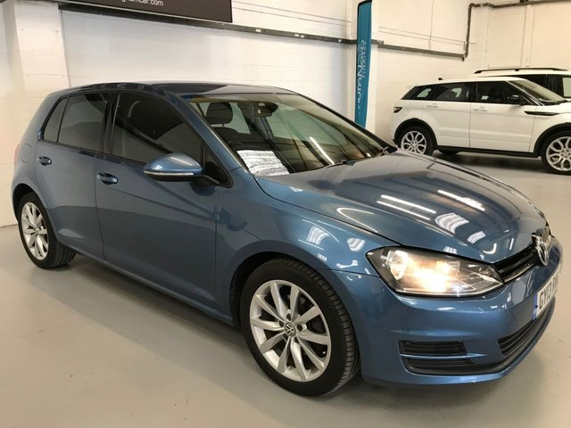 USED 2013 13 VOLKSWAGEN GOLF 1.6 SE TDI BLUEMOTION TECHNOLOGY DSG 5d 103 BHP