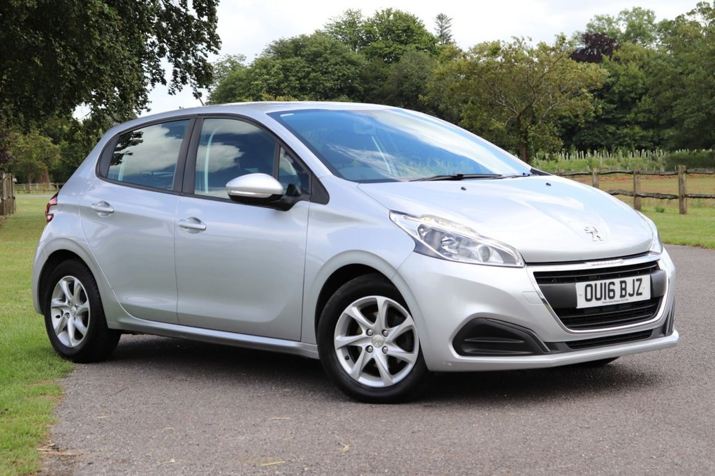 USED 2016 16 PEUGEOT 208 1.6 BLUE HDI ACTIVE 5d 75 BHP Cruise + Dab+ Bluetooth + Fsh