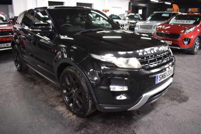 USED 2012 61 LAND ROVER RANGE ROVER EVOQUE 2.2 SD4 DYNAMIC 5d 190 BHP DYNAMIC - SD4 4X4 - LEATHER - NAV - FULL GLASS PANORAMIC ROOF - HEATED SEATS - MERIDIEN SPEAKERS - REVERSE CAMERA