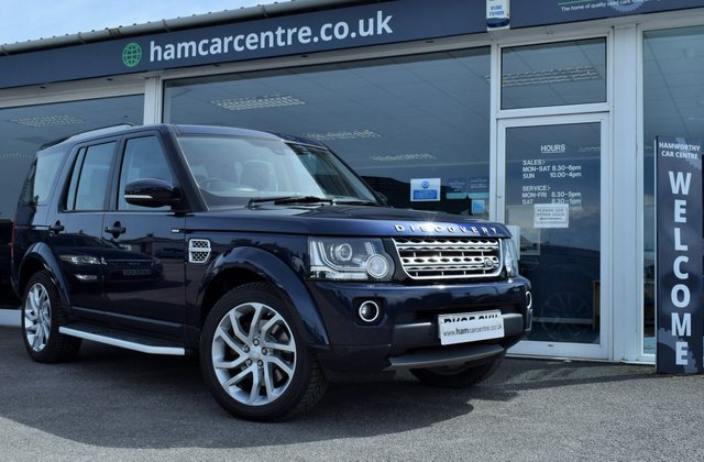 2015 65 LAND ROVER DISCOVERY 4 3.0 SDV6 HSE 5d 255 BHP LOW-MILES F/L/R/H STOP/START
