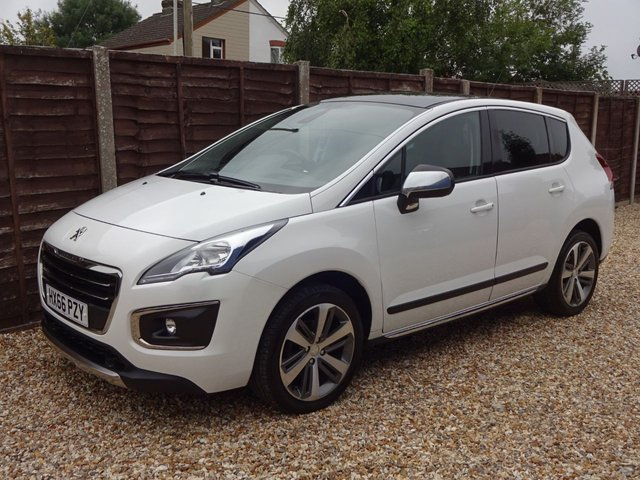 USED 2016 66 PEUGEOT 3008 1.6 BLUE HDi ALLURE 5DOOR *LOW MILEAGE*FULLY LOADED*FULL SERVICE HISTORY*
