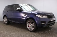 USED 2016 16 LAND ROVER RANGE ROVER SPORT 3.0 SDV6 HSE DYNAMIC 5DR AUTO 306 BHP FULL LAND ROVER SERVICE HISTORY + HEATED LEATHER SEATS + PANORAMIC ROOF + SATELLITE NAVIGATION + REVERSE CAMERA + PARKING SENSOR + BLUETOOTH + CRUISE CONTROL + CLIMATE CONTROL + MULTI FUNCTION WHEEL + XENON HEADLIGHTS + DAB RADIO + ELECTRIC/MEMORY FRONT SEATS + ELECTRIC WINDOWS + ELECTRIC MIRRORS + 21 INCH ALLOY WHEELS