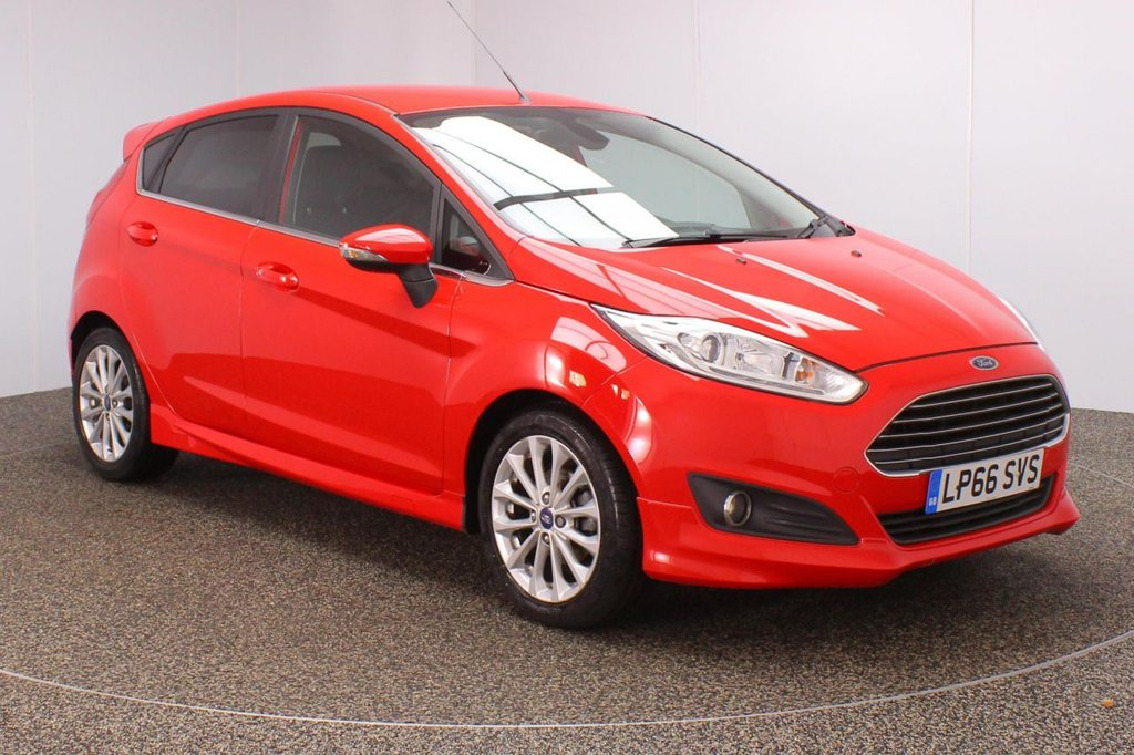 USED 2017 66 FORD FIESTA 1.5 TITANIUM X TDCI 5DR 1 OWNER 94 BHP FULL SERVICE HISTORY + FREE 12 MONTHS ROAD TAX + HEATED FRONT SEATS + REVERSE CAMERA + LOW MILEAGE + BLUETOOTH + CRUISE CONTROL + CLIMATE CONTROL + MULTI FUNCTION WHEEL + DAB RADIO + PRIVACY GLASS + ELECTRIC WINDOWS + ELECTRIC/HEATED/FOLDING DOOR MIRRORS + 16 INCH ALLOY WHEELS