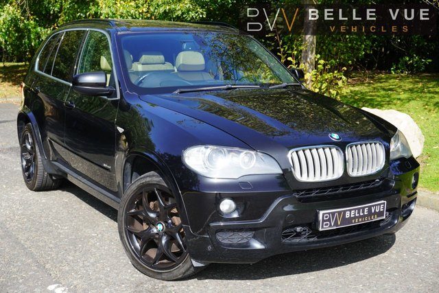 USED 2009 59 BMW X5 3.0 30sd M Sport 7 Seater SUV 5dr Diesel Automatic *PARKING SENSORS! SATNAV! FULL LEATHER! DVD PLAYER*