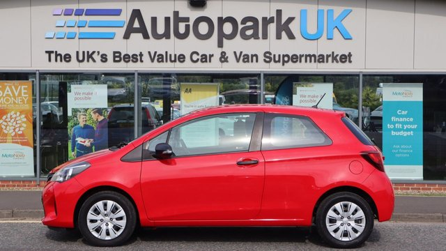 USED 2017 17 TOYOTA YARIS 1.0 VVT-I ACTIVE 3d 69 BHP LOW DEPOSIT OR NO DEPOSIT FINANCE AVAILABLE