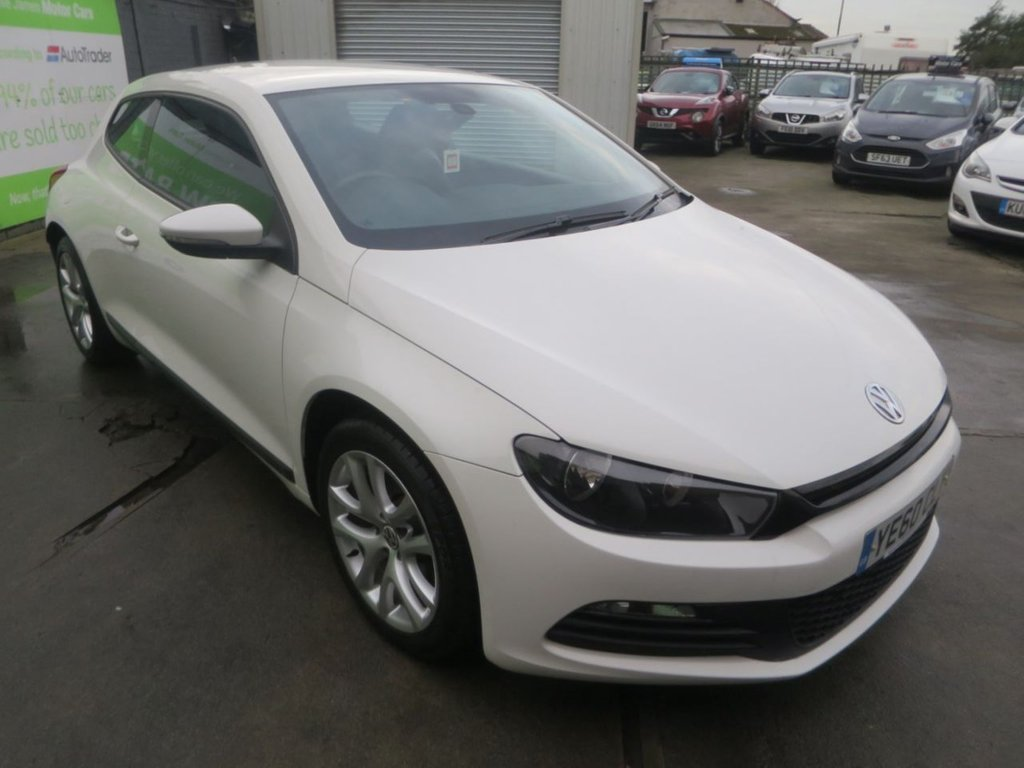 USED 2010 60 VOLKSWAGEN SCIROCCO 1.4 TSI 3d 160 BHP * 8 STAMP FSH + FULL LEATHER *