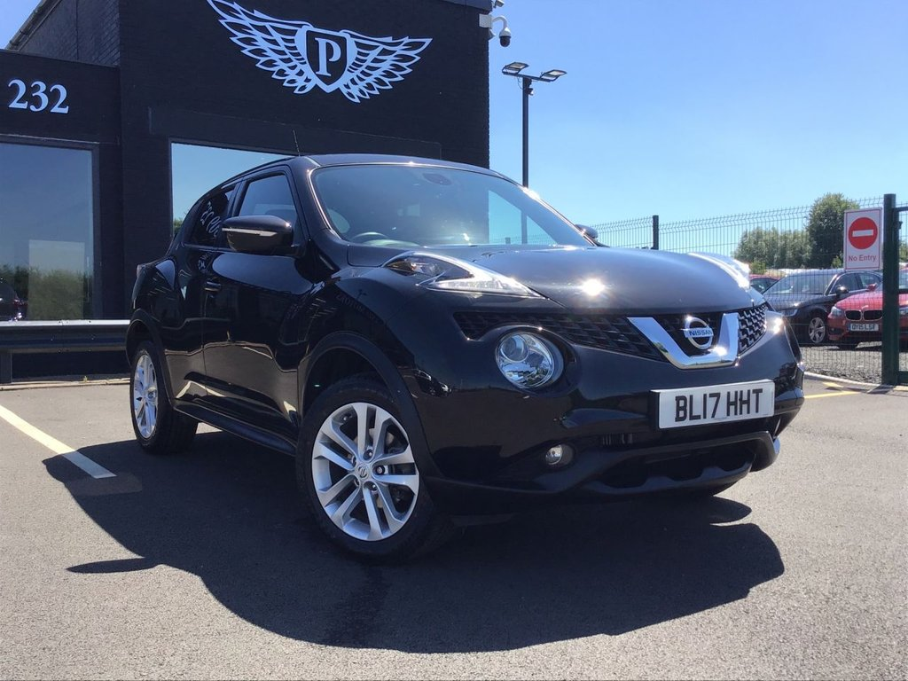 USED 2017 17 NISSAN JUKE 1.2 N-CONNECTA DIG-T 5d 115 BHP REVERSE CAMERA | BLUETOOTH