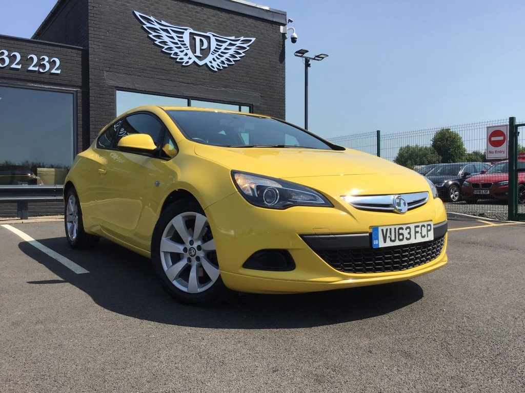 USED 2014 63 VAUXHALL ASTRA 1.7 GTC SPORT CDTI S/S 3d 108 BHP CRUISE/TRACTION CONTROL