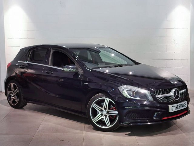 2013 13 MERCEDES-BENZ A-CLASS 2.0 A250 ENGINEERED BY AMG 5d AUTO 211 BHP