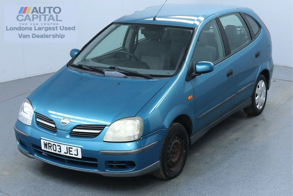 USED 2003 03 NISSAN ALMERA 1.8 TINO 114 BHP Petrol Air Con Fully Sanitised Service | Rear Tow Fitted