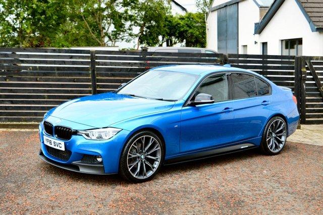 2016 16 BMW 3 SERIES 2.0 320D M SPORT 4d 188 BHP