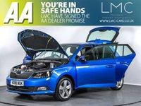 USED 2018 18 SKODA FABIA 1.0 SE L TSI DSG 5d AUTO 109 BHP HISTORY-BLUETOOTH-A/C-ISOFIX
