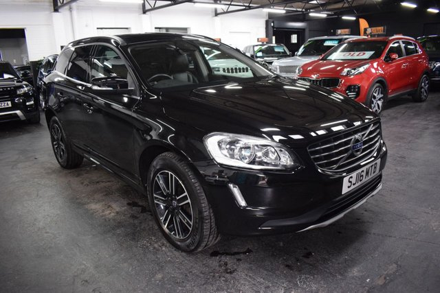 USED 2016 16 VOLVO XC60 2.4 D4 SE NAV AWD AUTO 5d 187 BHP LOVELY CONDITION - ONE OWNER - 4X4 - AUTO - D4 - FULL VOLVO HISTORY TO 39K - LEATHER - NAV - PRIVACY GLASS