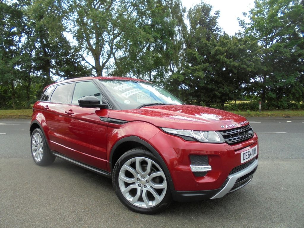 USED 2015 64 LAND ROVER RANGE ROVER EVOQUE 2.2 SD4 DYNAMIC LUX 5d 190 BHP