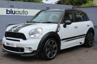USED 2014 14 MINI COUNTRYMAN 2.0 COOPER SD ALL4 5d 141 BHP 2 Owners, Serviced by Mini, Over £3900 Worth of Extras