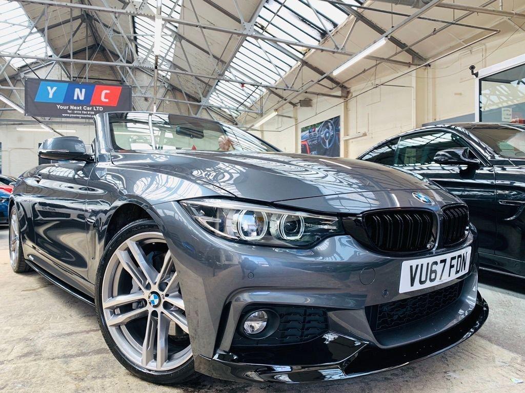 USED 2017 67 BMW 4 SERIES 3.0 440i M Sport Auto (s/s) 2dr PERFORMANCEKIT+19S+AIRCOLLAR