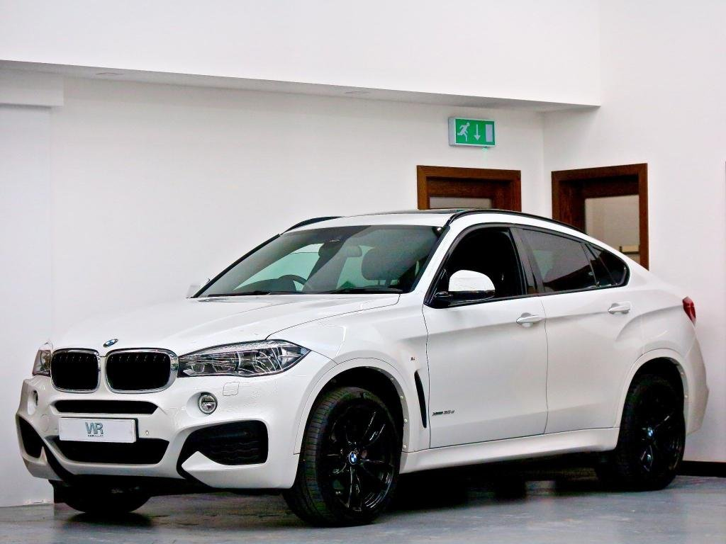 USED 2018 18 BMW X6 3.0 30d M Sport Auto xDrive (s/s) 5dr PAN ROOF + HUD + HK + R/CAM