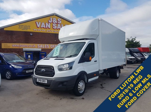 USED 2019 19 FORD TRANSIT LUTON TAILIFT BOX VAN 1 OWNER EURO 6 LOW MLS FORD TRANSIT LUTON TAILIFT 2019/19 REG TWIN WHEEL