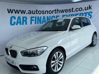 2017 BMW 1 SERIES 2.0 118D SPORT 5d 147 BHP £13000.00