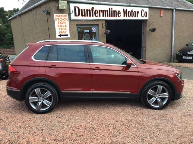 USED 2017 67 VOLKSWAGEN TIGUAN 2.0 SEL TDI BMT 4MOTION 5d 148 BHP ++VEHICLE NOW RESERVED ++